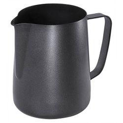 Contacto Espresso Milchkanne Antihaft Schwarz 0,9-A210-Bild1