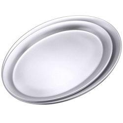 Serviertablett oval matt  20cm-A305-Bild1
