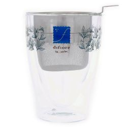 dfs doppelwand Teeglas 0,3 - Edelstahl Sieb-A765-Bild1
